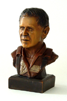"7.5"" Tall Bronze Bust of George W. Bush $295.00 click to see large image"